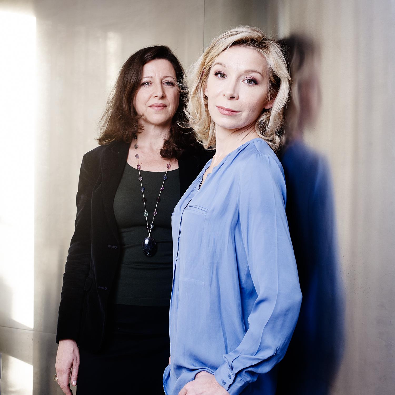 Céline Lis Raoux & Agnès Buzin