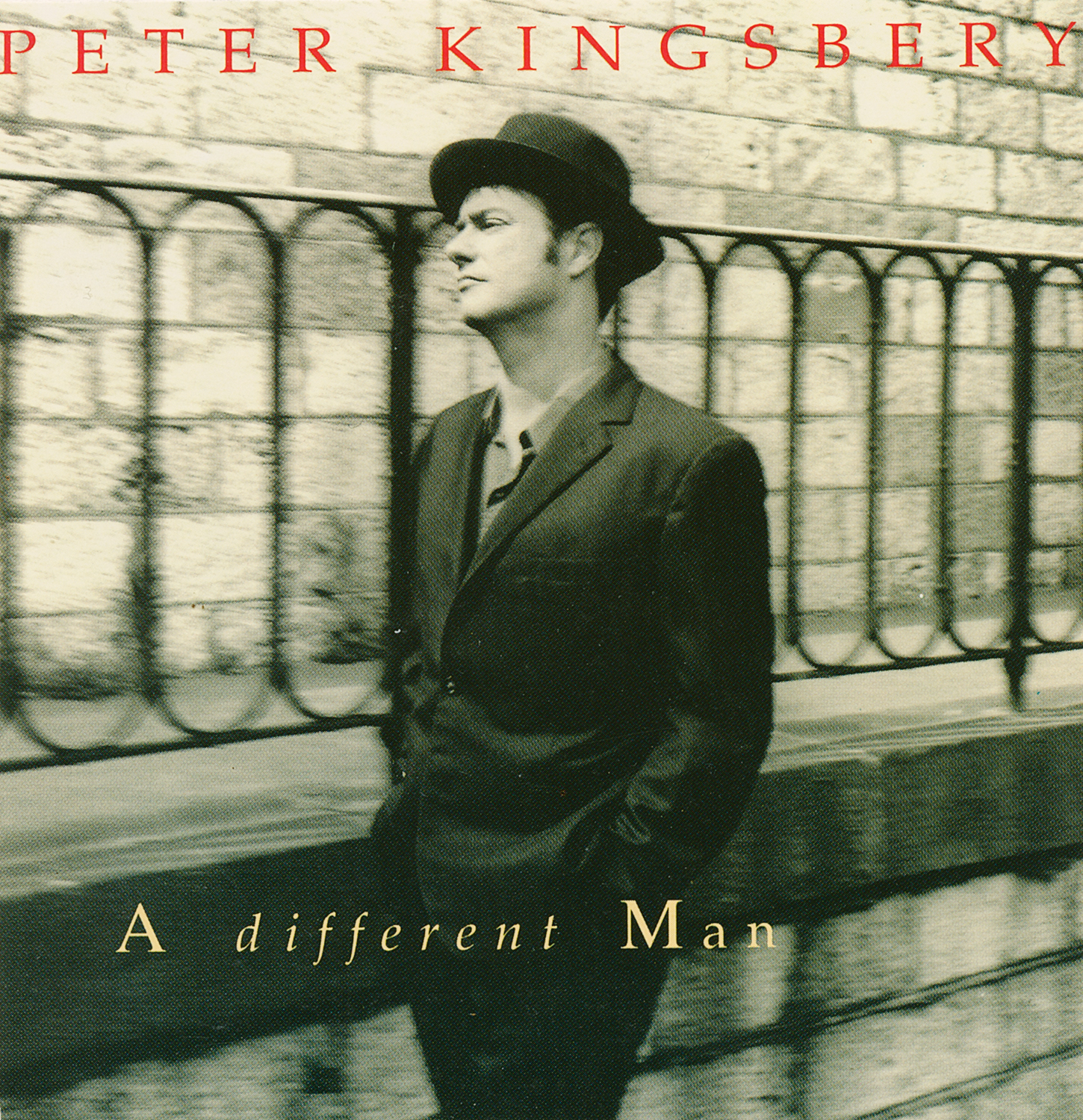Peter Kingsberry / A different man